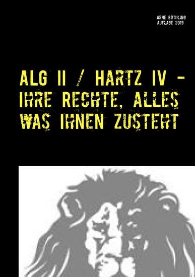 ALG II / Hartz IV - Ihre Rechte, alles was Ihnen zusteht - Blick ins Buch