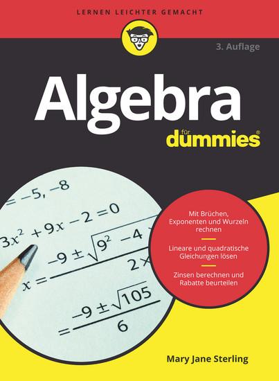 Algebra für Dummies - Blick ins Buch