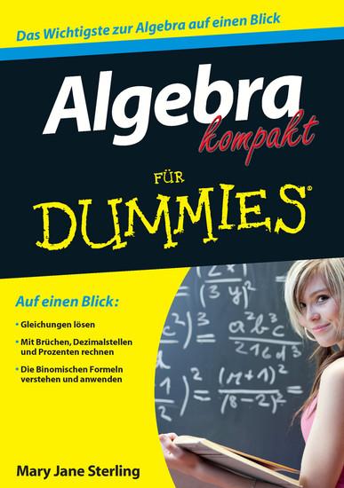 Algebra kompakt für Dummies - Blick ins Buch