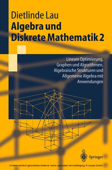 Algebra und Diskrete Mathematik 2 - Blick ins Buch