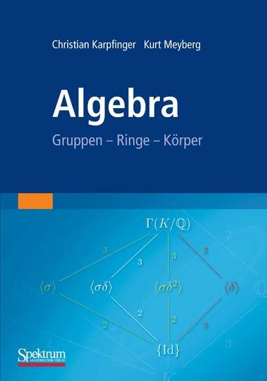 Algebra - Blick ins Buch