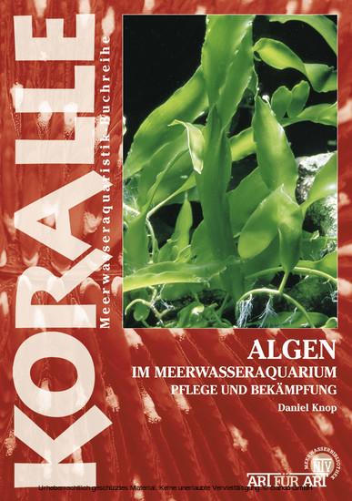 Algen im Meerwasseraquarium - Blick ins Buch