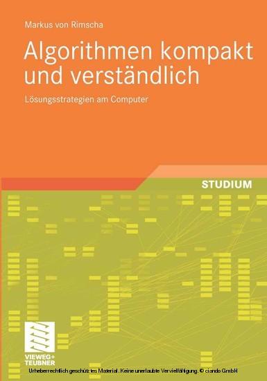 Algorithmen kompakt und verständlich - Blick ins Buch