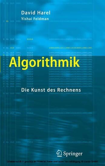 Algorithmik - Blick ins Buch