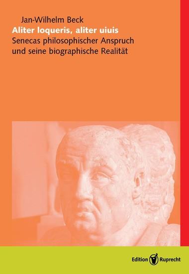 Aliter loqueris, aliter uiuis - Blick ins Buch