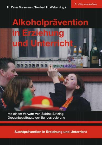 Alkoholprävention in Erziehung und Unterricht - Blick ins Buch