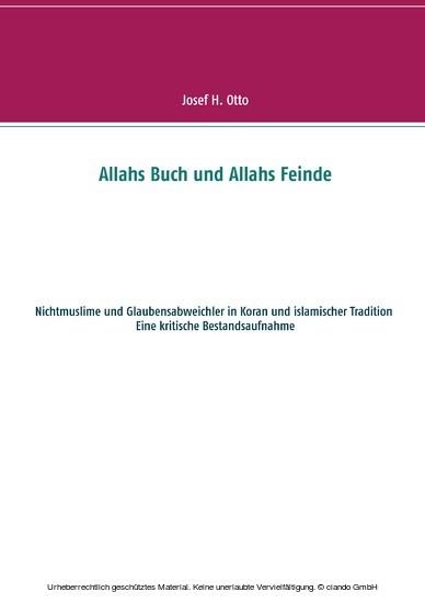 Allahs Buch und Allahs Feinde - Blick ins Buch