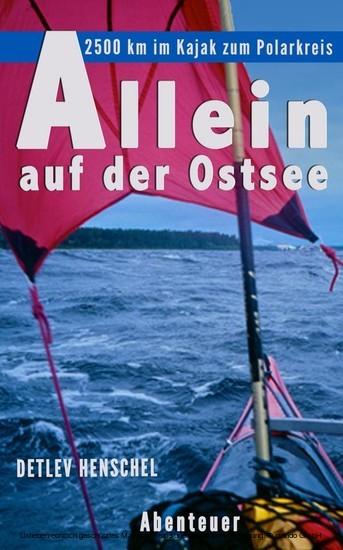 Allein auf der Ostsee - Blick ins Buch