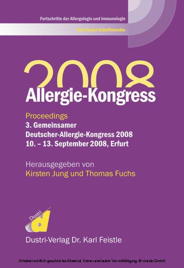 Allergie-Kongress 2008 - Blick ins Buch