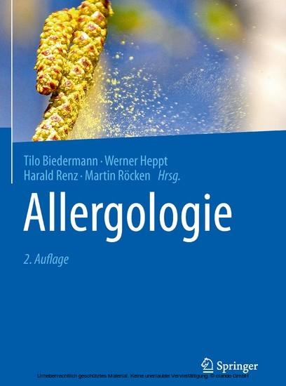 Allergologie - Blick ins Buch