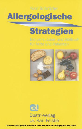 Allergologische Strategien - Blick ins Buch