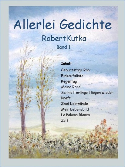 Allerlei Gedichte - Blick ins Buch