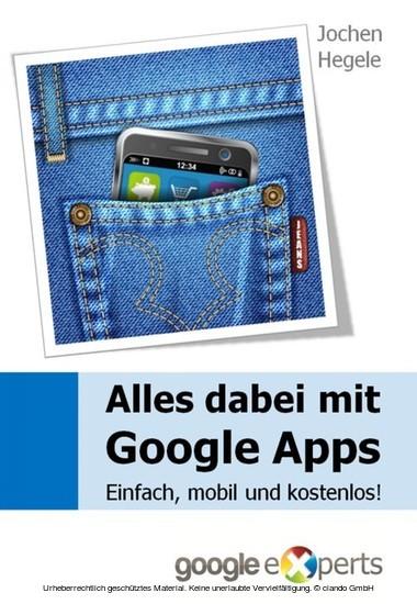 Alles dabei mit Google Apps - Blick ins Buch