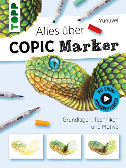 Alles über COPIC Marker - Blick ins Buch