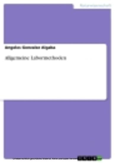 Allgemeine Labormethoden - Blick ins Buch