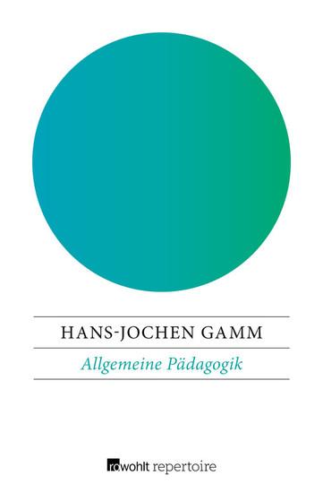Allgemeine Pädagogik - Blick ins Buch