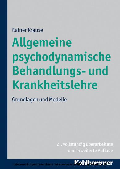 Allgemeine psychodynamische Behandlungs- und Krankheitslehre - Blick ins Buch