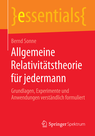 Allgemeine Relativitätstheorie für jedermann - Blick ins Buch