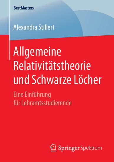 Allgemeine Relativitätstheorie und Schwarze Löcher - Blick ins Buch