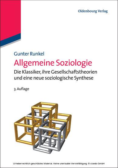 Allgemeine Soziologie - Blick ins Buch