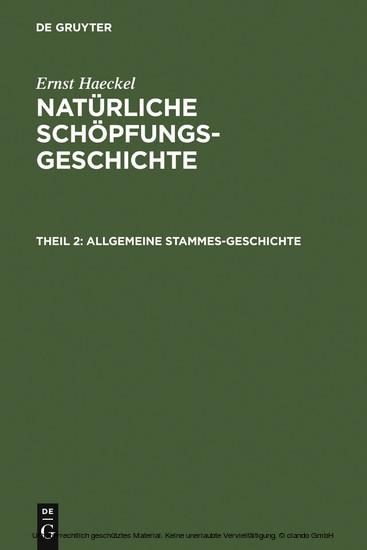 Allgemeine Stammes-Geschichte - Blick ins Buch