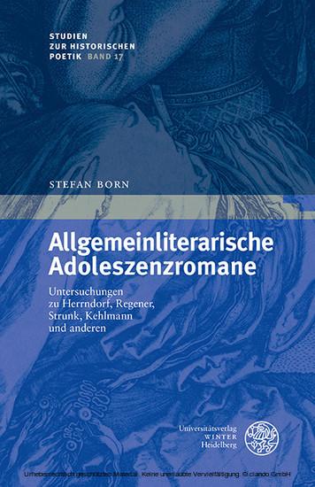Allgemeinliterarische Adoleszenzromane - Blick ins Buch