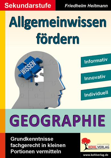 Allgemeinwissen fördern GEOGRAPHIE - Blick ins Buch