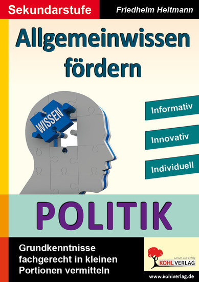 Allgemeinwissen fördern POLITIK - Blick ins Buch