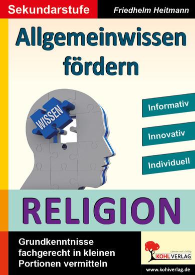 Allgemeinwissen fördern RELIGION - Blick ins Buch