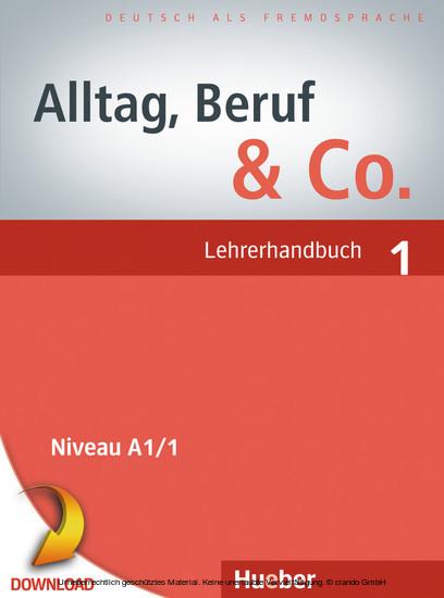 Alltag, Beruf & Co. 1 - Blick ins Buch