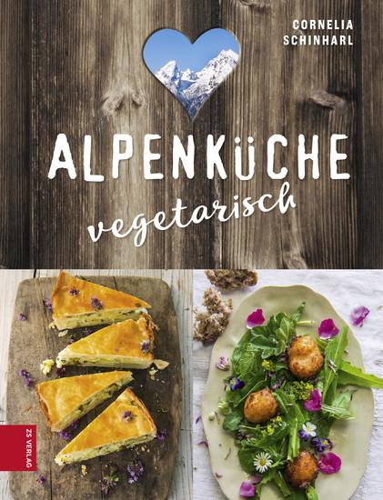 Alpenküche vegetarisch - Blick ins Buch
