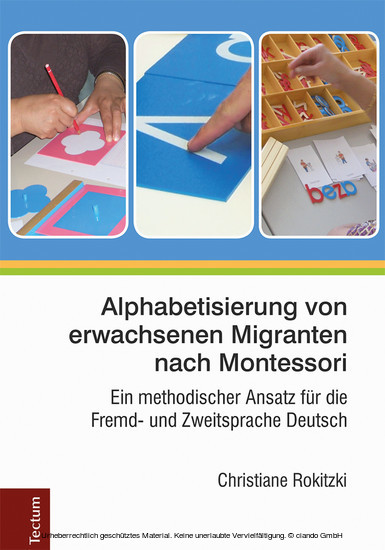 Alphabetisierung von erwachsenen Migranten nach Montessori - Blick ins Buch
