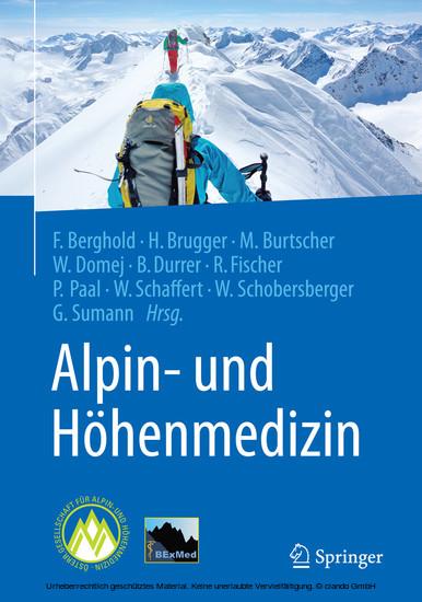 Alpin- und Höhenmedizin - Blick ins Buch