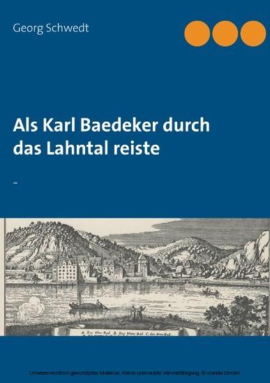 Als Karl Baedeker durch das Lahntal reiste - Blick ins Buch
