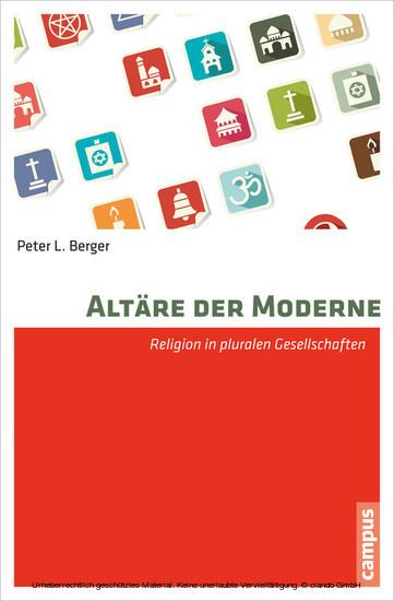 Altäre der Moderne - Blick ins Buch