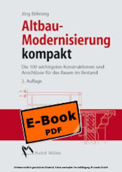 Altbau - Modernisierung kompakt - Blick ins Buch