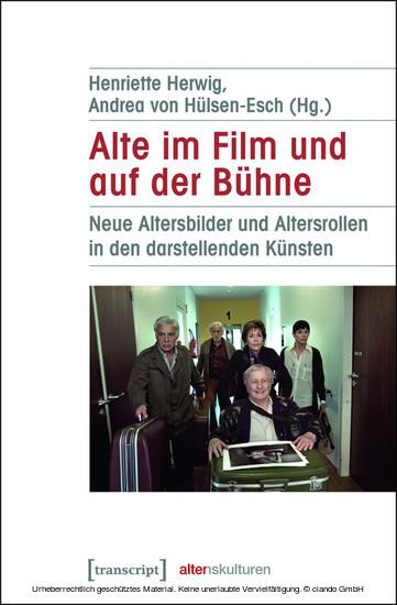Alte im Film und auf der Bühne - Blick ins Buch