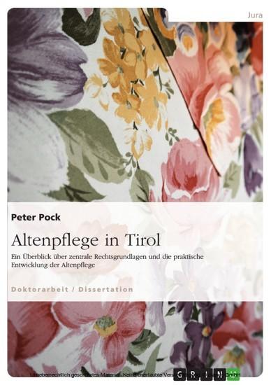 Altenpflege in Tirol - Blick ins Buch