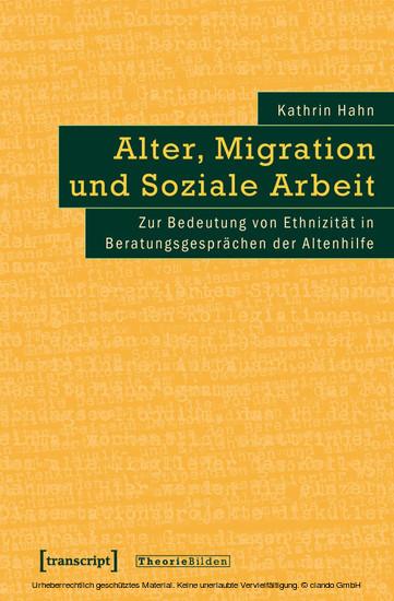 Alter, Migration und Soziale Arbeit - Blick ins Buch