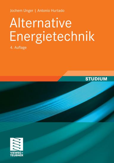 Alternative Energietechnik - Blick ins Buch