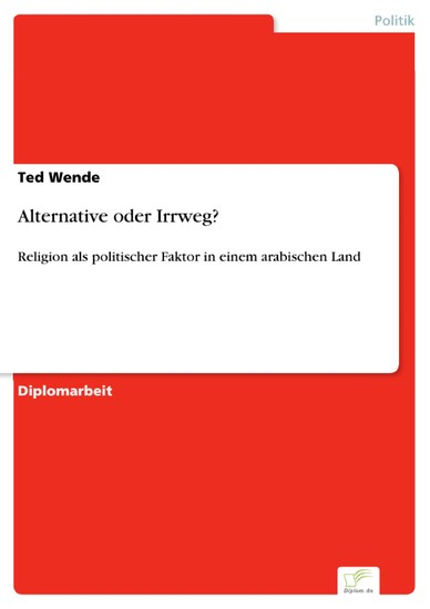 Alternative oder Irrweg? - Blick ins Buch