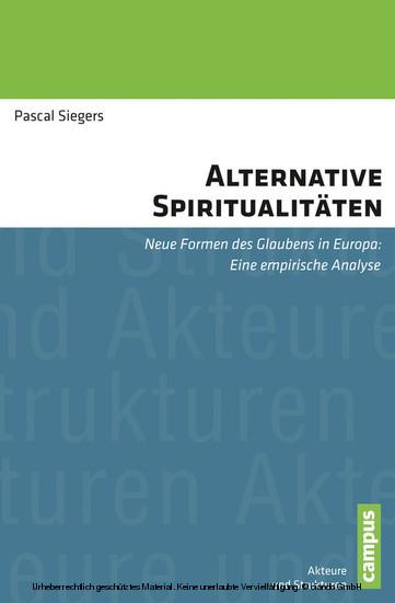 Alternative Spiritualitäten - Blick ins Buch