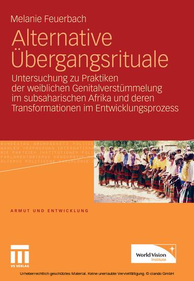 Alternative Übergangsrituale - Blick ins Buch