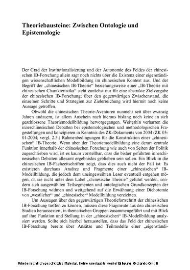 Alternative Weltordnungsmodelle? - Blick ins Buch