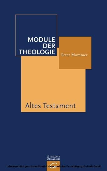 Altes Testament - Blick ins Buch