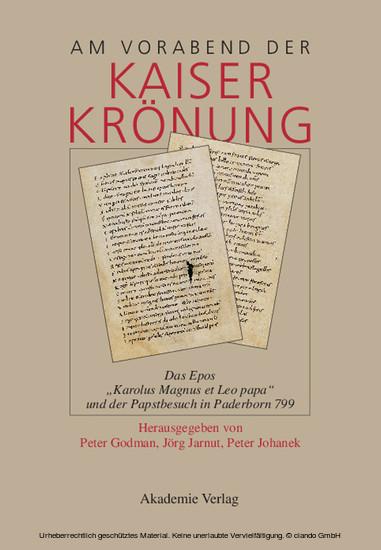 Am Vorabend der Kaiserkrönung - Blick ins Buch