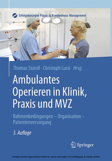 Ambulantes Operieren in Klinik, Praxis und MVZ - Blick ins Buch