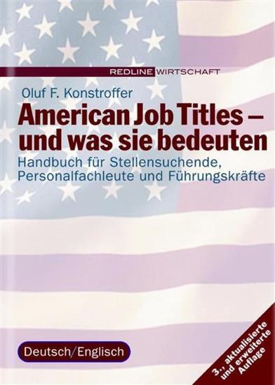 American Job Titles - und was sie bedeuten - Blick ins Buch
