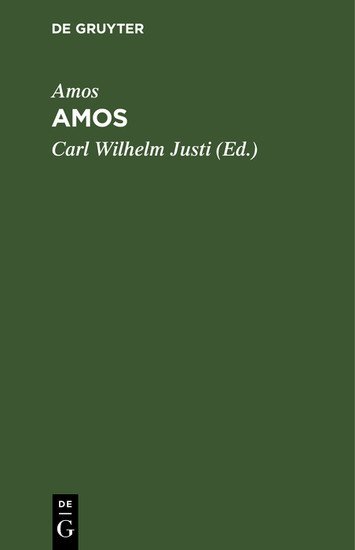 Amos - Blick ins Buch