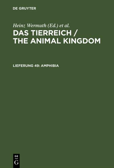 Amphibia - Blick ins Buch